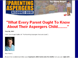The Parenting Aspergers Resource Guide