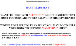 Diabetes, the Vitamin & Mineral Connection
