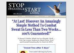 Stop Sweating and Start Living: A Practical Guide to Ending Your Underarm Sweat Problem