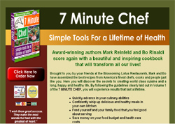 7 Minute Chef : Simple Tools For A Lifetime Of Lifetime Of Health