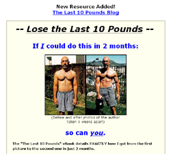 The Last 10 Pounds