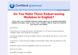 Embarrassing Grammar Mistakes You Must Avoid