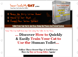 Train Your Cat To Use The Human Toilet!