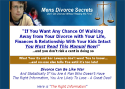 Mens Divorce Secrets