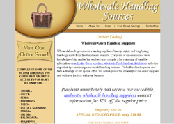 Wholesale Authentic Designer Purse Suppliers