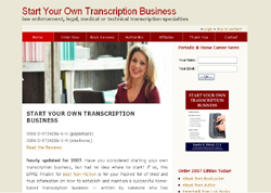 Start Your Own Transcription Business