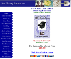 Start Your Own Office Cleaning Business (The Suze & Ev Method)
