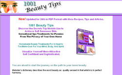 1001 Beauty Tips:Bring Out Your Natural Beauty
