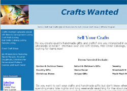 Crafts Wanted