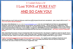 The Ultimate Weight Loss eBook!