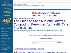 The Guide to Handheld and Palmtop Computing  Resources for Health Care Professionals.