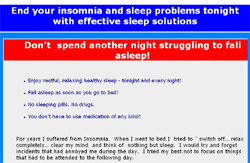 End  your insomnia problems tonight with effective sleep solutions