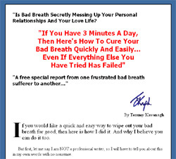 The Bad Breath Report