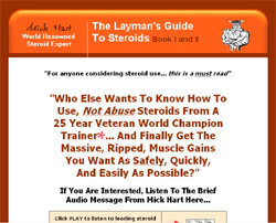 The Layman's Guides to Steroids Book I and II