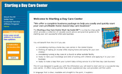 Starting a Day Care Center Start-Up Guide Kit?
