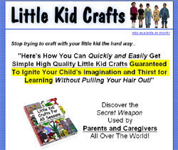 Little Kid Crafts For All Seasons