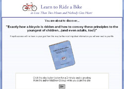 Learn To Ride A Bike