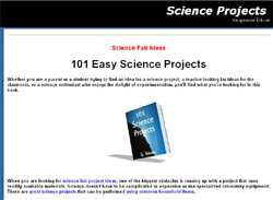 101 Easy Science Projects