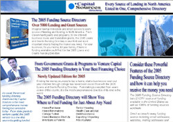 The 2005 Funding Directory