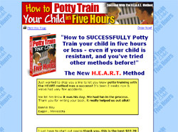 How to Potty Train Your Child in Five Hours