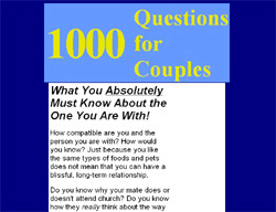 1000 Questions For Couples