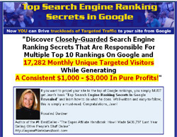 Top Search Engine Ranking Secrets In Google Revealed