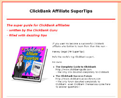 ClickBank Affiliate SuperTips