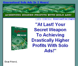 Review of How To Reach Higher Profits With Solo Ads