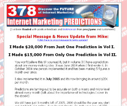 378 Internet Marketing Predictions