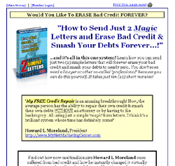 Erase Bad Credit & Smash Your Debts:With Just 2 Simple Letters