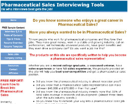 Pharmaceutical Sales Interview Tools