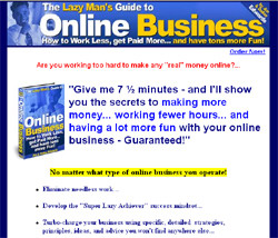The Lazy Man's Guide To Online Business