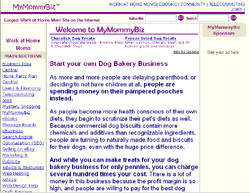 Dog Bakery Business