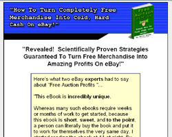 Free Auction Profits - How To Turn FREE Into Money!