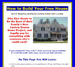 Build Your Free House?