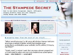 The Stampede Secret
