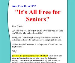 Free for Seniors
