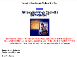 Interviewing Secrets Revealed Guide
