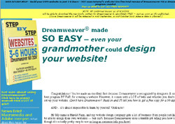 Step by Step Websites in 3-6 Hours with Dreamweaver MX & MX 2004