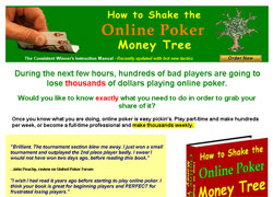 How To Shake The Online Poker MoneyTree