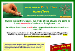 How To Shake The PartyPoker MoneyTree