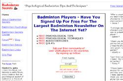 Badminton Secrets