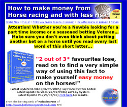 The Easy To Use Lay Betting System