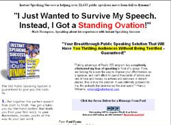 Instant Speaking Success