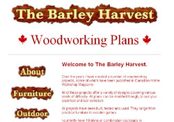 The Barley Harvest Woodworking Plans