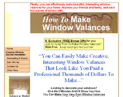 How To Make Window Valances