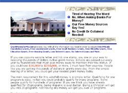 Amazing Free Grant Money Eguide