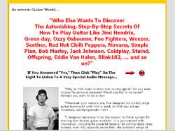 Insider Secrets Of Playing Guitar!
