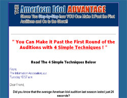 American Idol Advantage