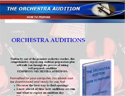 The Orchestra Audition: How to Prepare